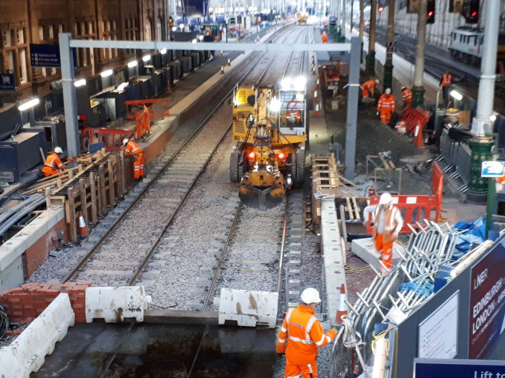 New Platforms at Waverley Station